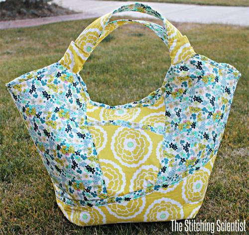 Carnaby Carry All Bag – Free Sewing Tutorial