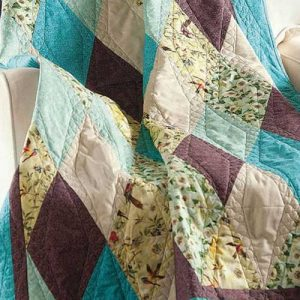 Diamonds Quilt – Free Quilt Pattern