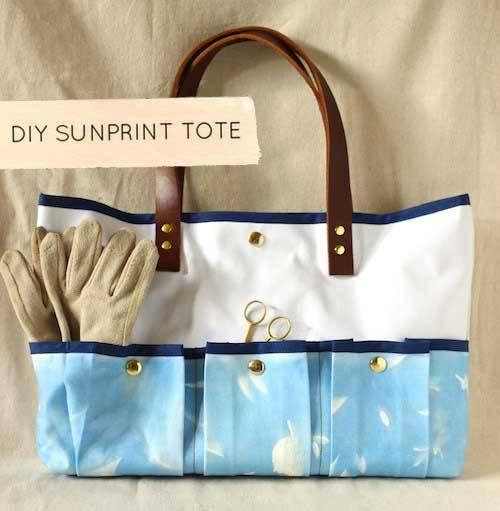 Sunprint Tote