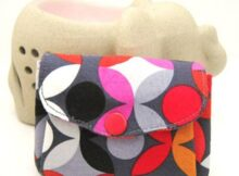 Free Purse Pattern and Tutorial - Double Flap Pouch Tutorial