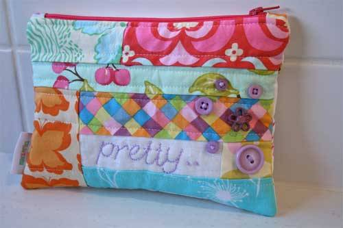 Easy Peasy Zippered Pouch