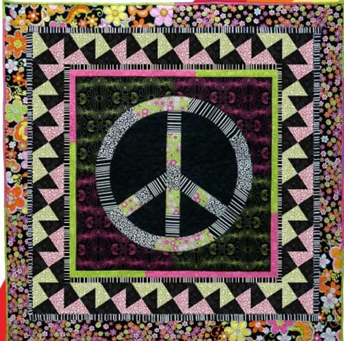 Free Quilt Pattern - Give Peace a Chance Quilt