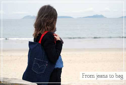 Free Tutorial - From Jeans to Bag