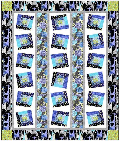 Free Quilt Pattern - Lulu's Petals Quilt