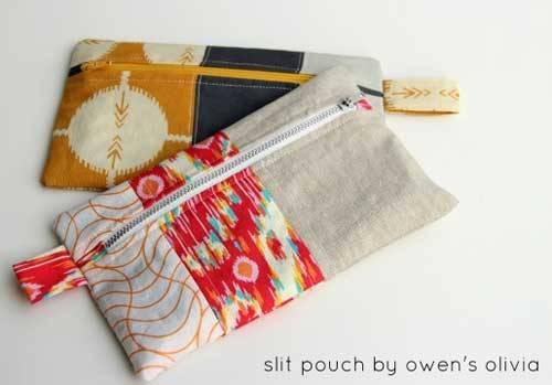 Olivia's Split Zippered Pouch