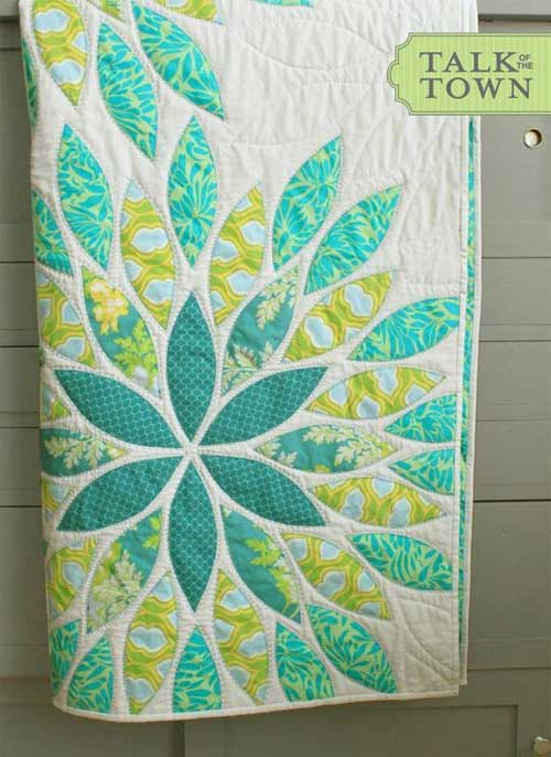 Sea Glass Quilt Pattern