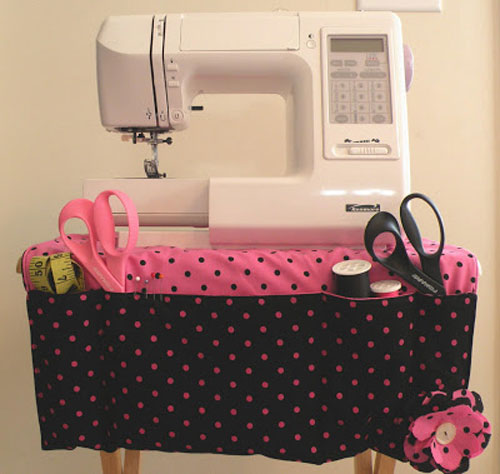 This sewing apron will keep all your sewing supplies close at hand.