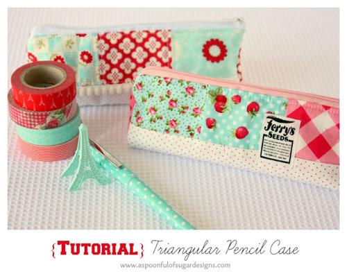 Triangular Pencil Case