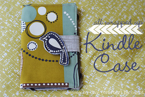 Free Sewing Pattern and Tutorial - All Wrapped Up Kindle Case