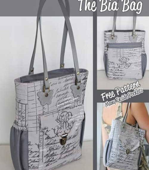 The Bia Bag – Free Sewing Pattern
