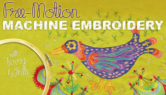 Free-Motion Machine Embroidery: Online Class