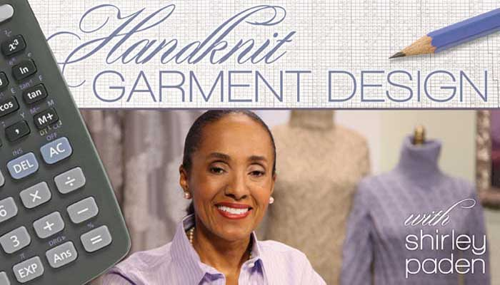 Handknit Garment Design: Online Sewing Class