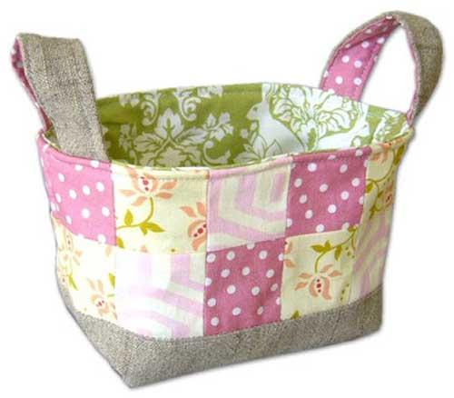 Fabric Basket - Free Sewing Tutorial