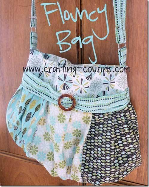 Flouncy Bag – Free Sewing Tutorial