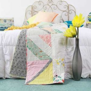 Happy Crossings Quilt – Free Quilt Pattern