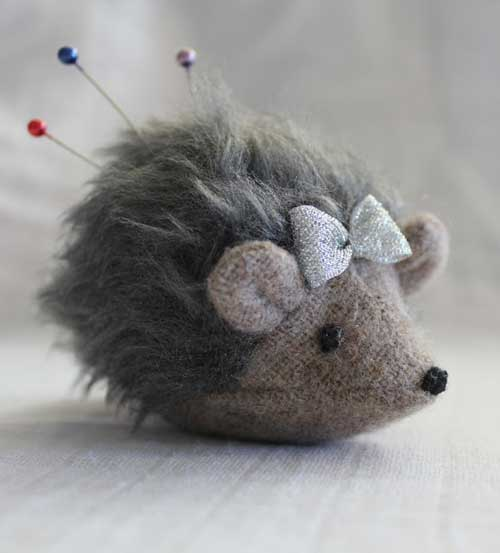 hedgehog-pincushion