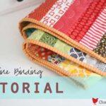 Machine Quilt Binding Tutorial