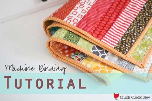 Free Quilting Tutorial - Machine Binding Tutorial
