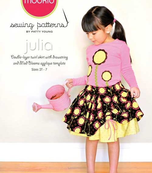 Julia Skirt and Applique Sewing Pattern