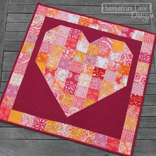 Pieces of My Heart – Free Quilt Pattern