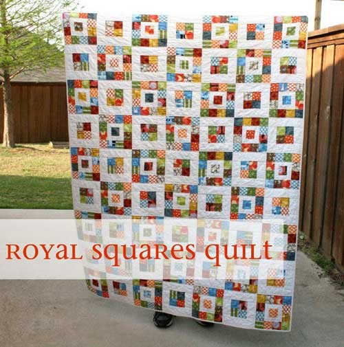 Royal Squares - Free Quilt Patternt