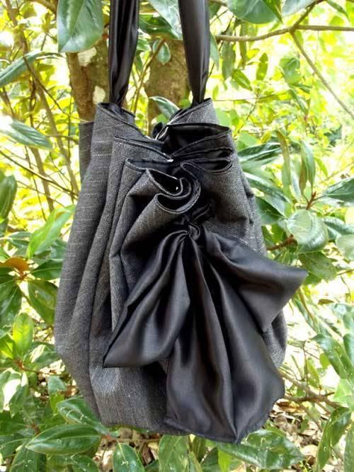 Satin Sash Bag - Free Sewing Pattern