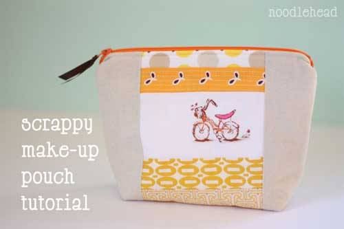 Scrappy Make-up Pouch
