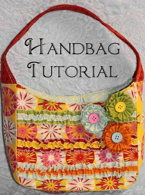 Free Bag Pattern and Tutorial - Small Handbag