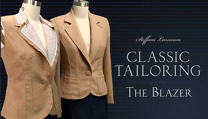 Classic Tailoring - The Blazer: Online Sewing Class