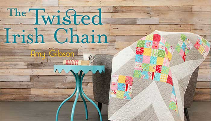 The Twisted Irish Chain: Online Quilting Class