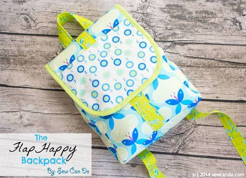 Free Bag Pattern and Tutorial - FlapHappy Backpack