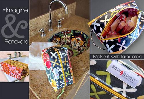 Laminated Toiletry Travel Bag