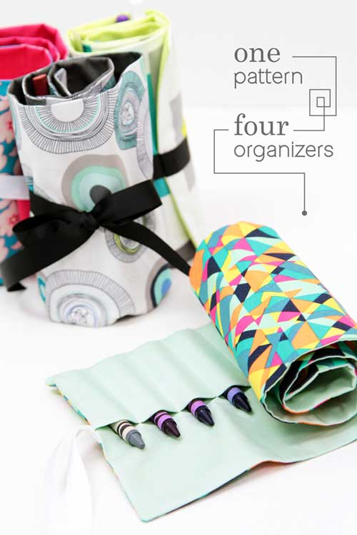 One Pattern Four Organizers - Free Sewing Pattern