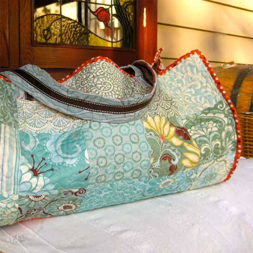 Patchwork Beach Bag