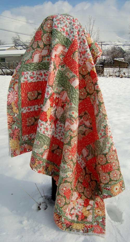 Rococo Garden Quilt - Free Quilt Pattern
