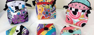 Uptown Debbie Brown: Thread Bag & Pin Cushion Pattern