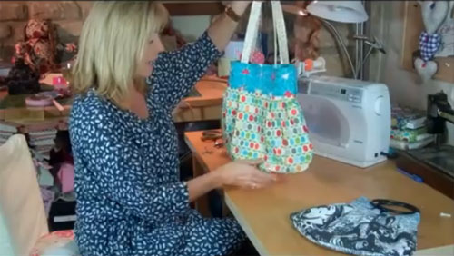 How to make a Reversible Handbag