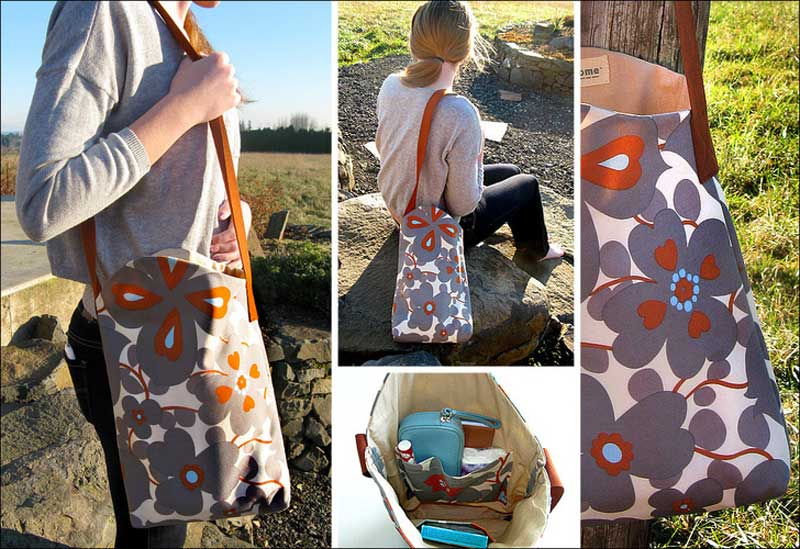 Angela Shoulder Bag – Free Sewing Pattern