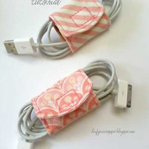 Fabric Cord Keeper – Free Sewing Tutorial