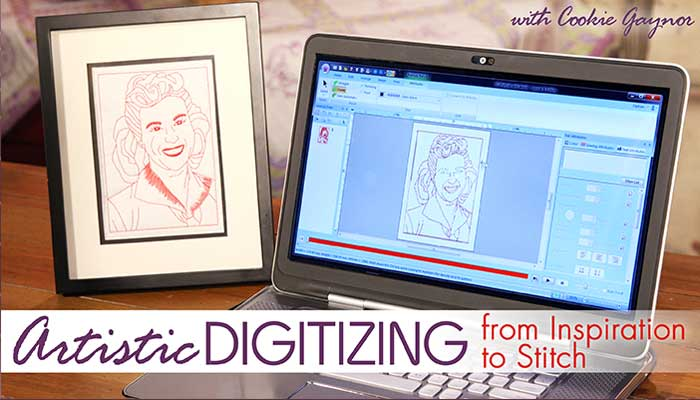 Artistic Digitizing - From Inspiration to Stitch: Online Class