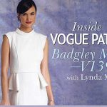Inside Vogue Patterns: Badgley Mischka V1399: Online Class