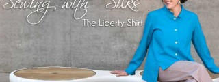 Sewing With Silk – The Liberty Shirt Online Sewing Class