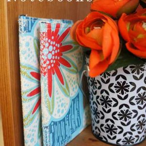 DIY Fabric Notebook – Free Sewing Tutorial