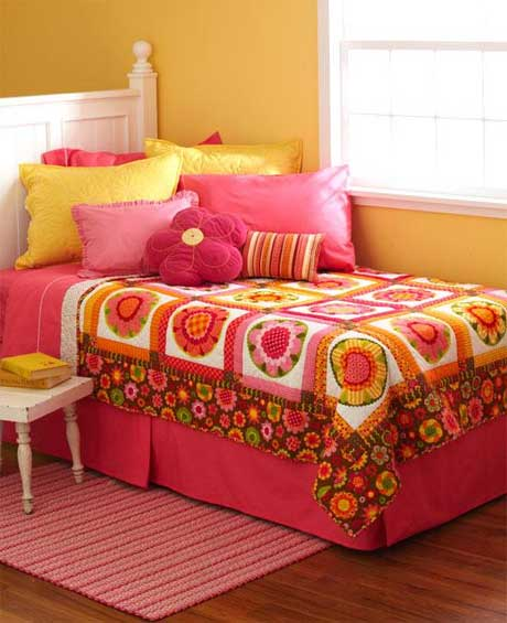 Free Quilt Pattern - Fast Flowers Quilt