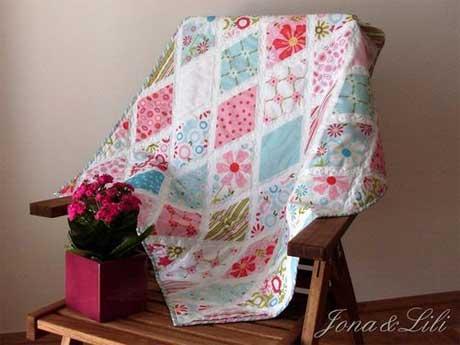 Sweet Divinity Diamond Quilt Pattern