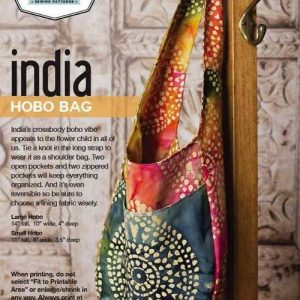 India Hobo Bag Pattern