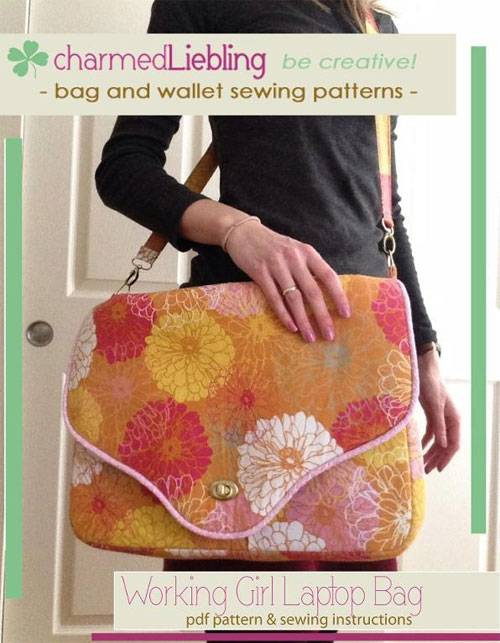Working Girl Laptop Bag Pattern