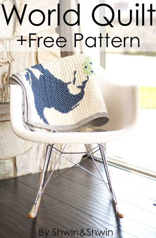 Free Quilt Pattern and Tutorial - World Quilt Pattern