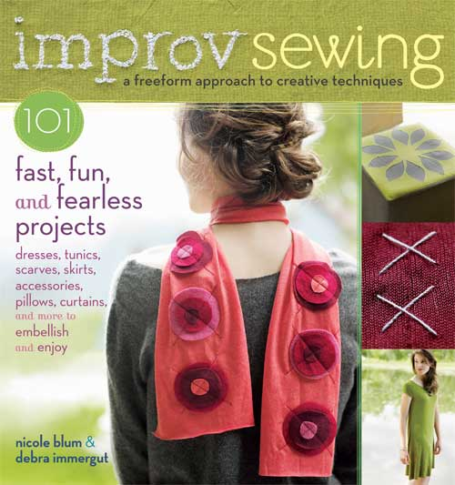 101 creative sewing projects that can all be completed in less than a day.