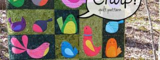 Chirp Applique Quilt Pattern